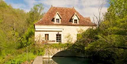 Le Moulin - Moulin de Lantouy - Holiday Gite in the Lot Valley