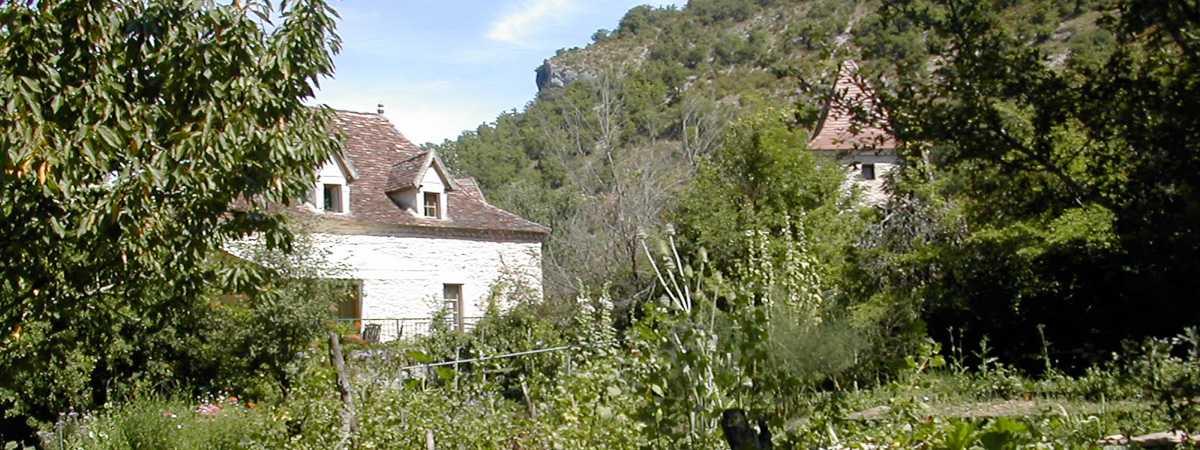 Moulin de Lantouy - Gîtes ruraux dans le Vallée du Lot